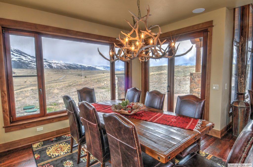 Bozeman Montana Custom Home Decorating Design